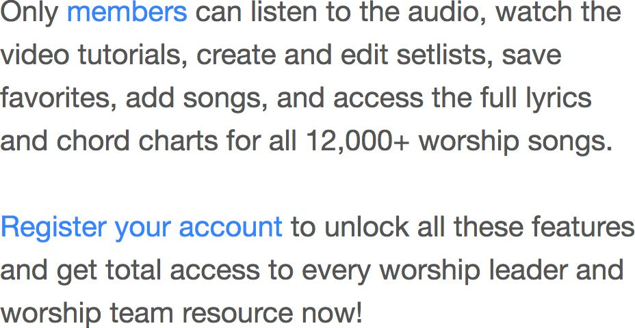 Mighty To Save Chords - Worship Chords